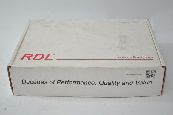 NEW SEALED RDL EZ-MX4L stereo 4-channel line level audio mixer with AC