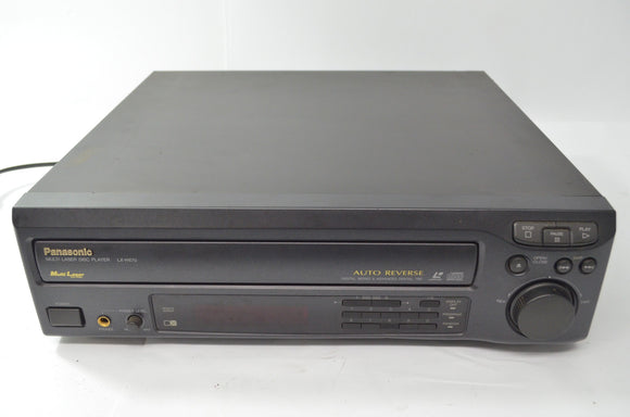 PANASONIC LX-H670U Auto Switching Laser Disc Player