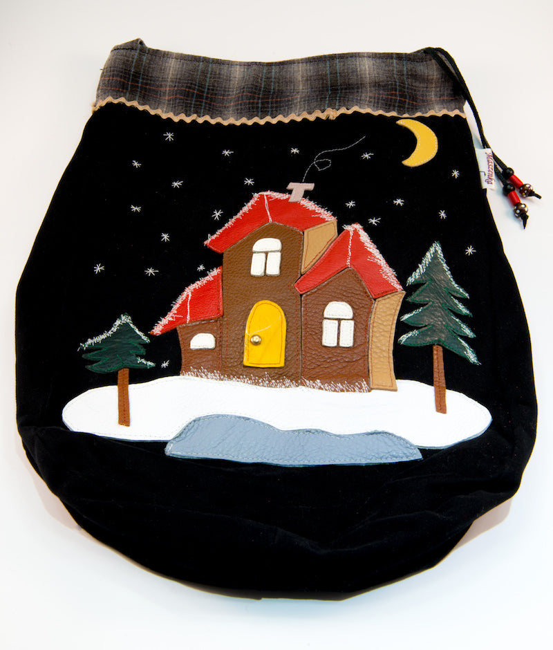 Winter Wonderland cross body bag