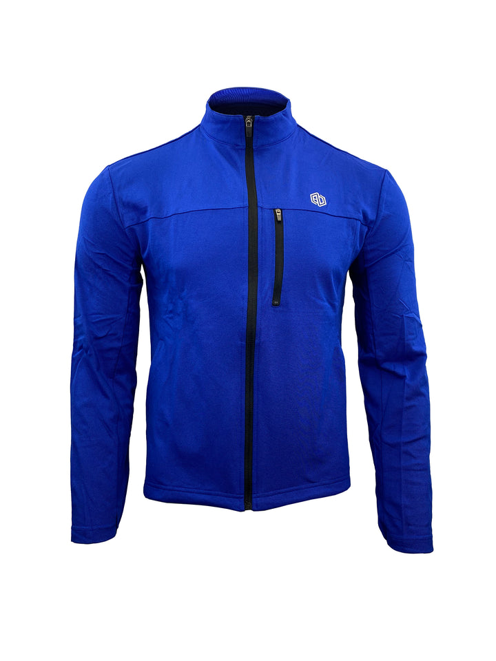Monarch Flex Pique Jacket: Electric Blue