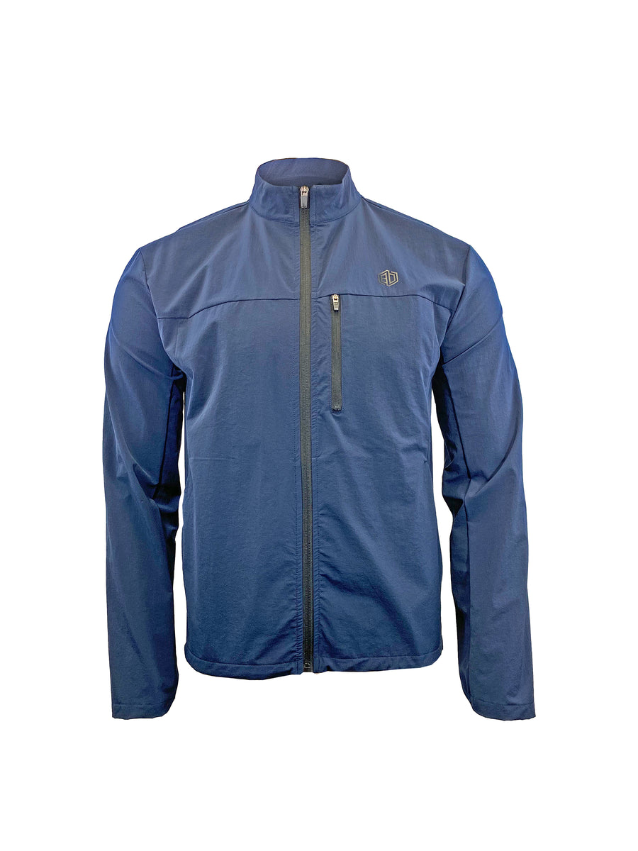 Monarch Flex Breaker Jacket: Deep Navy
