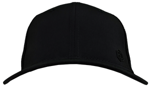 BLACK LASER MESH PERFORMANCE HAT