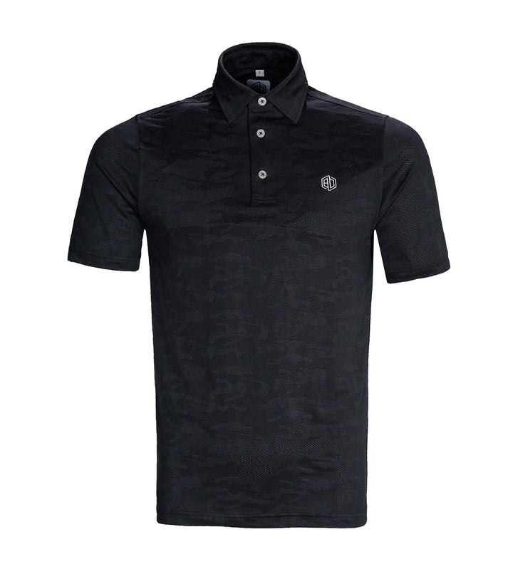 Charcoal Ghost Camo Polo