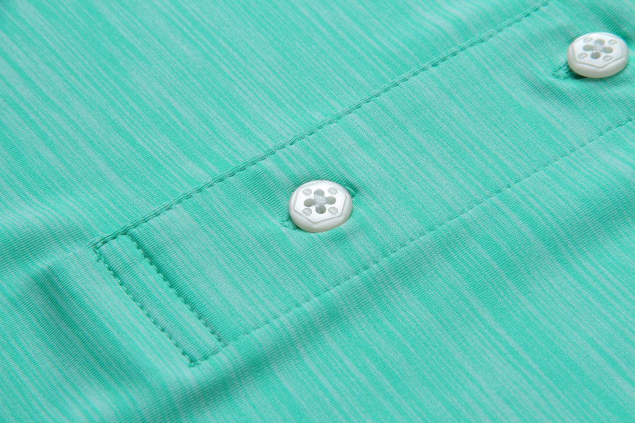 Emerald Stretch Polo
