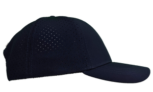 NAVY LASER MESH PERFORMANCE HAT