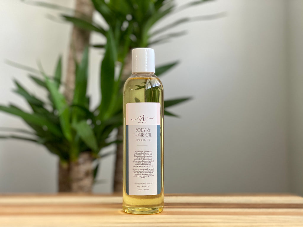 Body & Hair Oil - Unscented