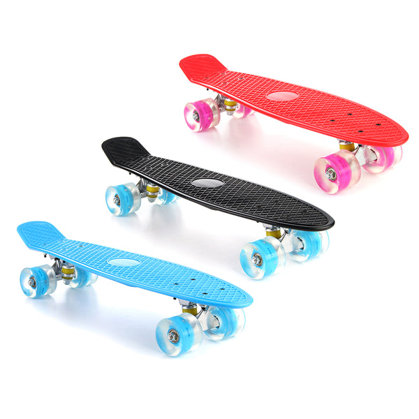 22'' LED Light Up Skateboard
