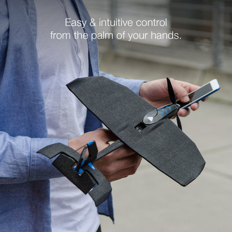 SmartPlane Pro FPV+ Smartphone Controlled VR Plane RTF (Ready-To-Fly) With FPV Goggles