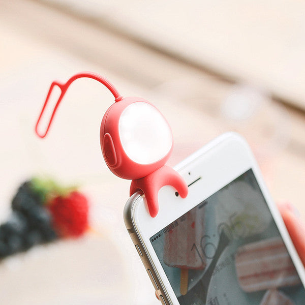 Wireless Bluetooth Fill Flash Selfie LED Light Lamp Self Timer For Smartphone