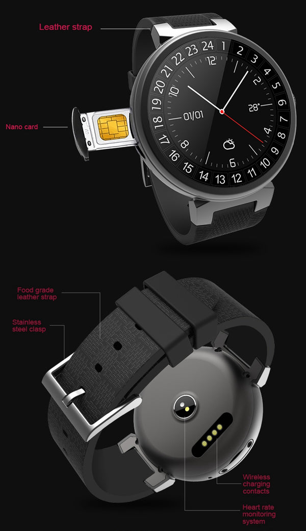 WAITIME™ I6 2G+16G Watch Phone 3G WIFI GPS