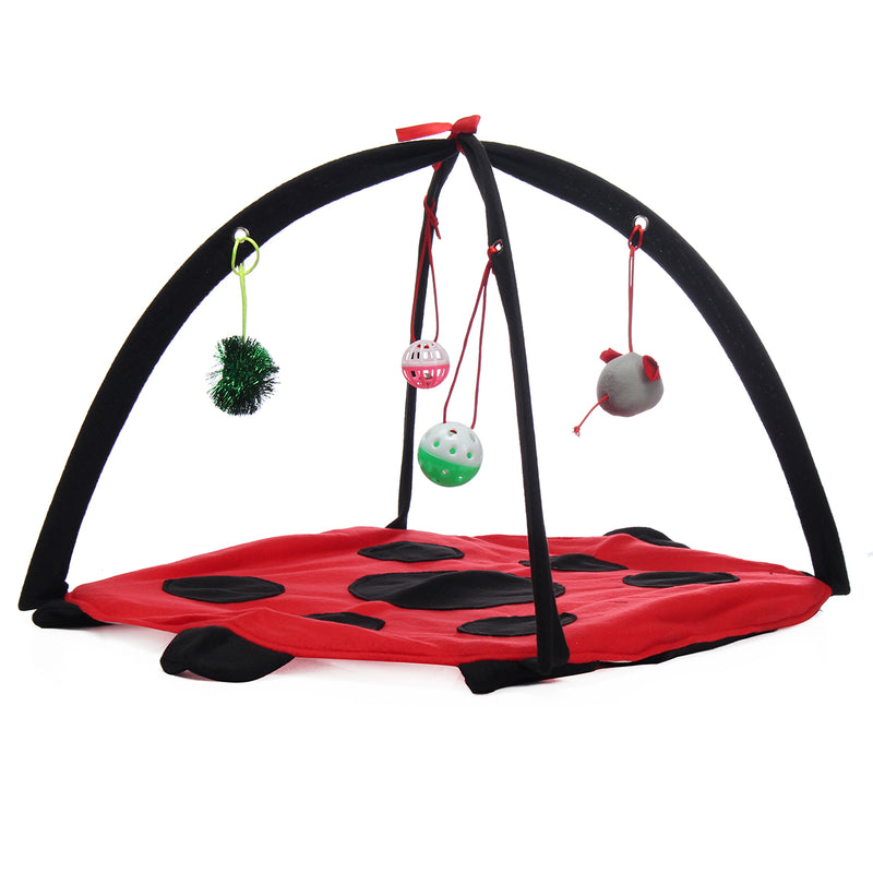 Pet Cat Play Bed Activity Tent