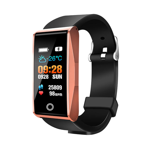 Blood Oxygen Pressure Heart Rate Music Camera Control Smart Watch