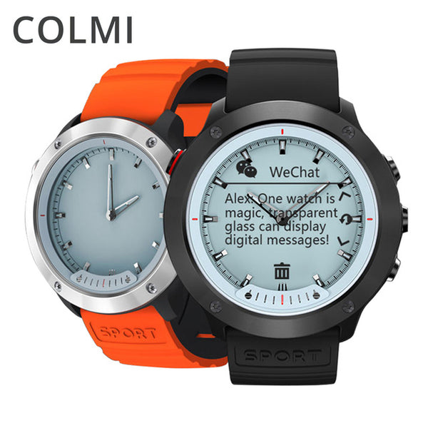 COLMI M5 Transparent Screen Display Smart Watch