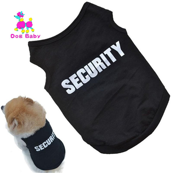 Black Cool Pet Vest