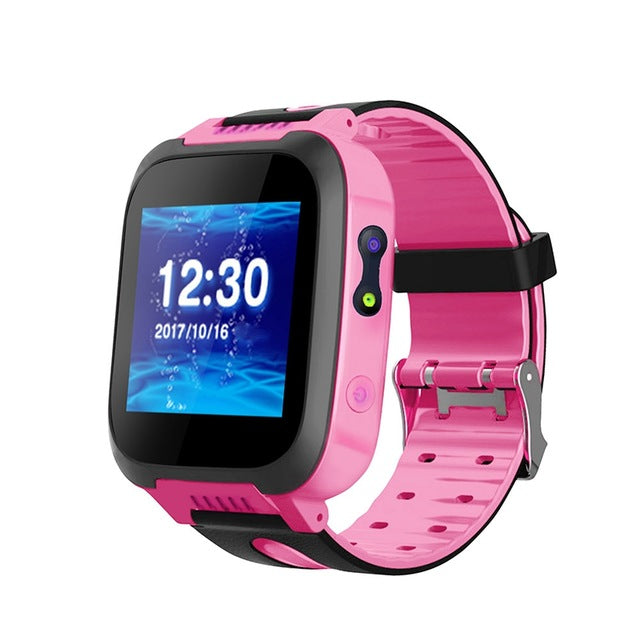 Kids Smart Watch Touch Screen SOS Call GPS Location Waterproof Camera
