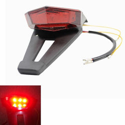 Motorcycle Scooter LED Tail Light Spoiler