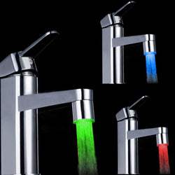 Color Changing LED Faucet Color Water Tap