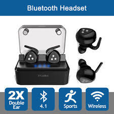 SYLLABLE D900 Mini Wireless Bluetooth 4.2 Earphone Earbuds Sports Running
