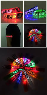 Zebra Running Gear Glowing LED Arm Band