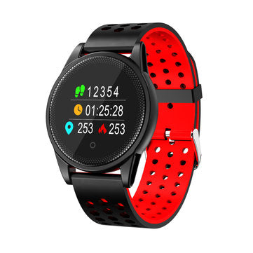 "LYNWO M10 0.95"" OLED Screen Blood Oxygen Pressure Heart Rate Sleep Smart Watch"