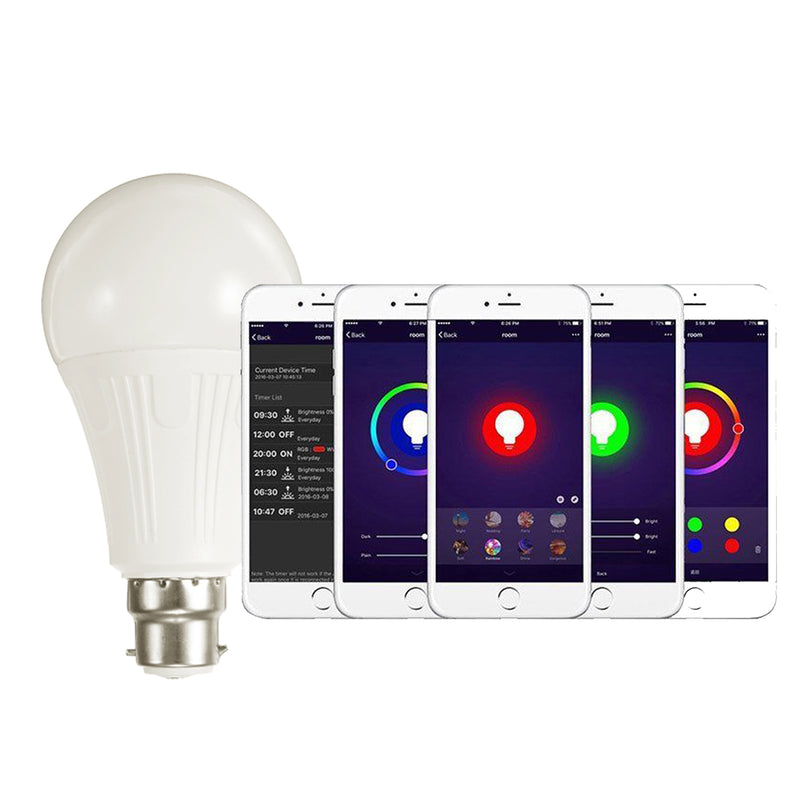 WiFi APP Controlled LED Smart Light Bulb