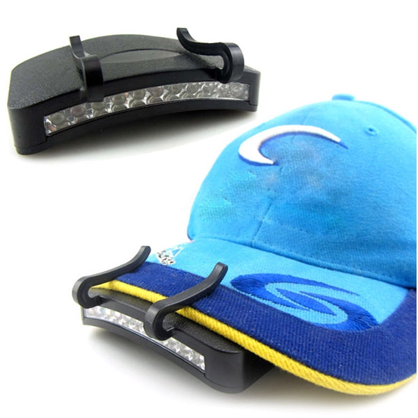 LED Clip-On Cap Light Lamp