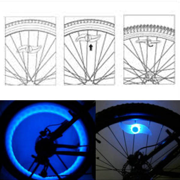 LED Bicycle Wheel LED light
