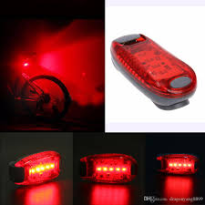 LED Bicycle Taillight Safety Warning Light