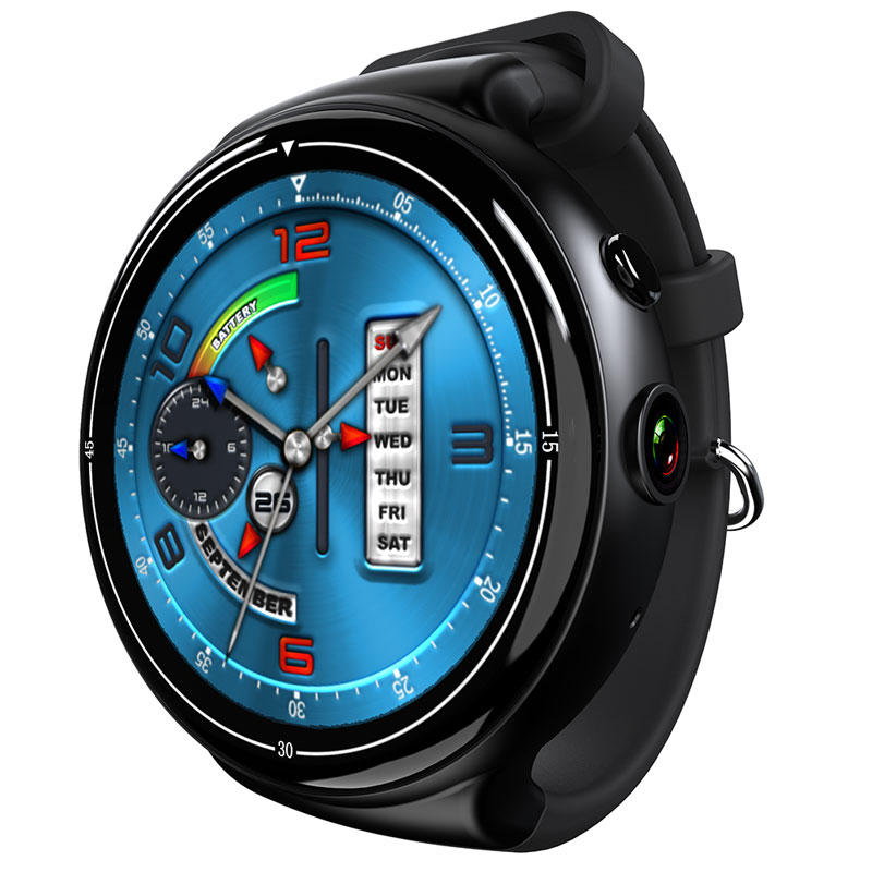 I4 AIR 2G+16G 2.0MP Camera Smart Watch WIFI GPS Heart Rate Monitor Fashion TPU Strap Watch Phone