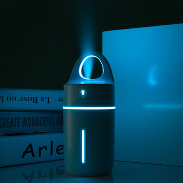 USB Magic Cup Ultrasonic Humidifier with Colorful Led Light Aroma Diffuser Purifier