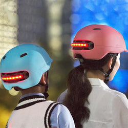 Cycling Helmet Intelligent Back LED Light
