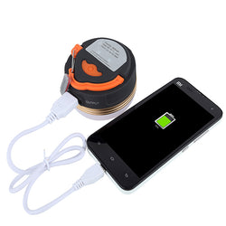 1800mAh Power Bank Camping Light Magnet