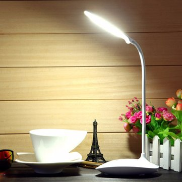 Flexible Rechargeable Dimmable USB LED Night Light Bedside Desktop