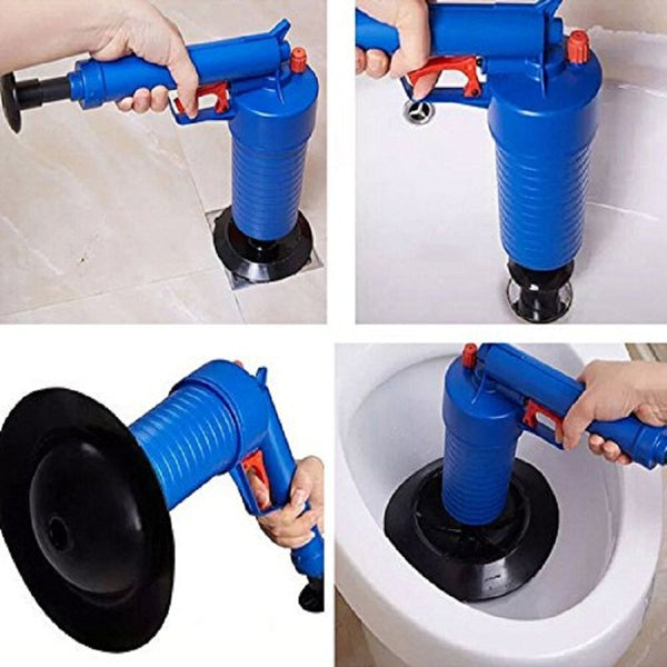 High Pressure Air Drain Blaster Pump Cleaner Kit