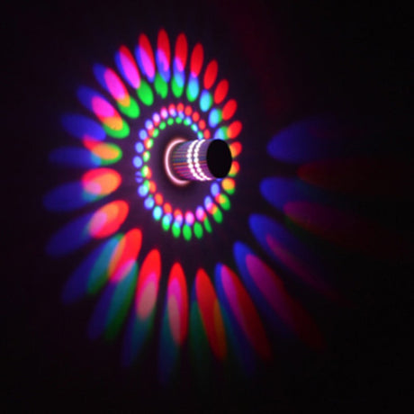 Spiral LED Wall Light
