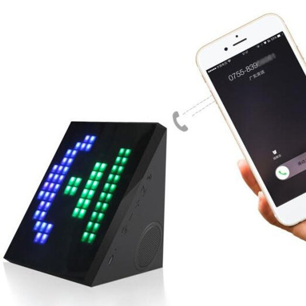 New Fashion East shine LED Magic Box Mini Bluetooth Speakers