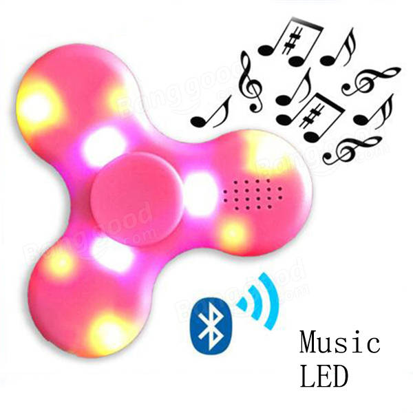 Chargeable Music LED Fidget Spinner