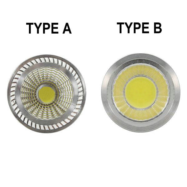 White/Warm White Energy Saving LED COB Spotlight Lamp Bulb