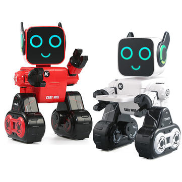 JJRC R4 Cady Wile Gesture Control LED Display Robot Toy
