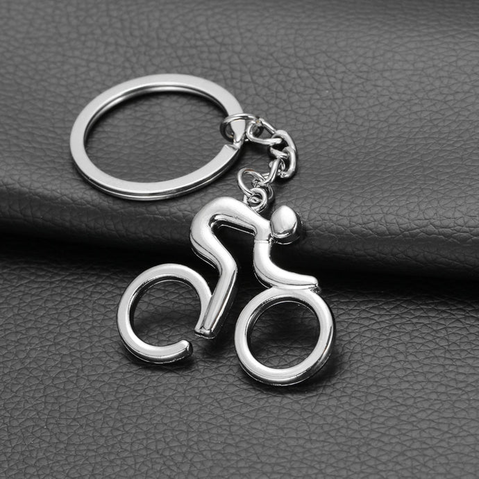 Cycling Keychain