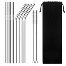 Load image into Gallery viewer, Reusable Metal Straws