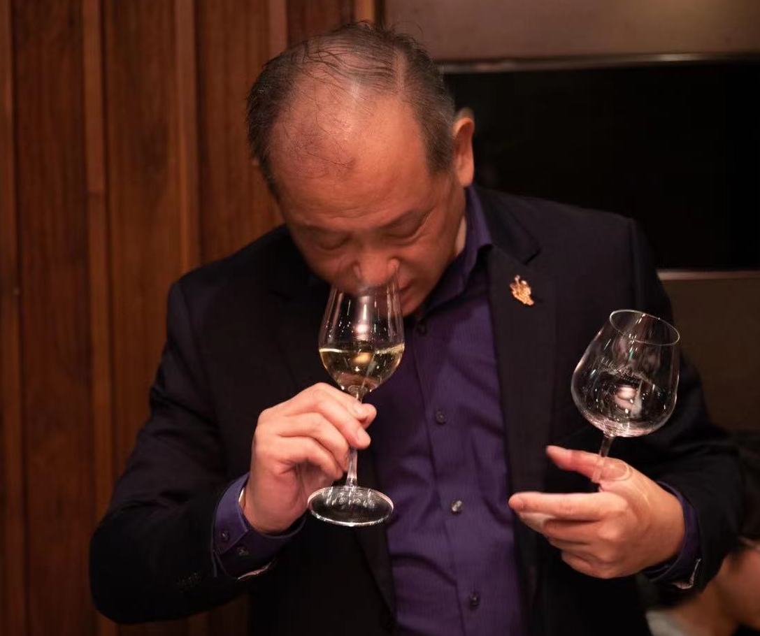 Nelson Chow Tasting with Lucaris Desire