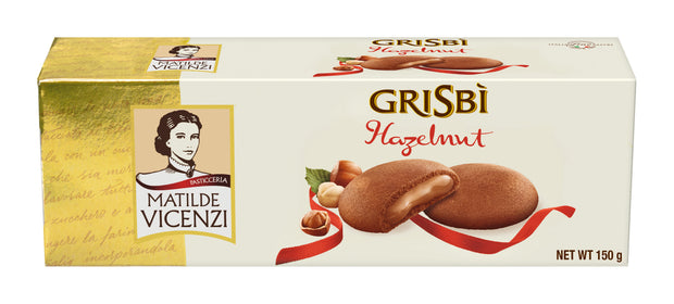 Grisbi Hazelnut Cream-Filled Cookie 150g Grisbi Matilde