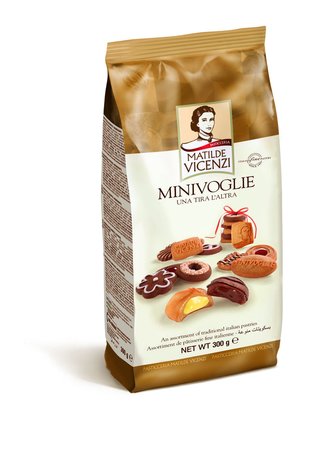 Mini Voglie Assorted Pastries 300g Matilde Vicenzi