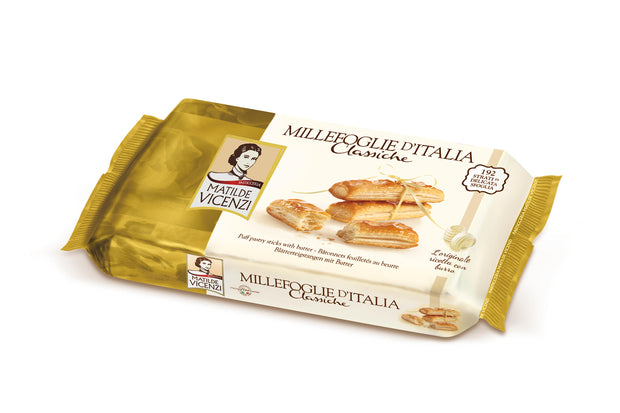 Millefoglie Classic Puff Pastry Stick with Butter 125g Matilde Vicenzi