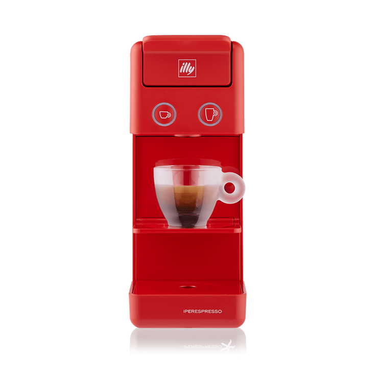 Y3.2 iperEspesso Coffee Machine - Red + 150 Capsules