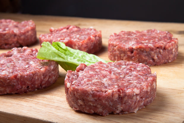 New Zealand Prime Steer Burger Patty 2X 125gr