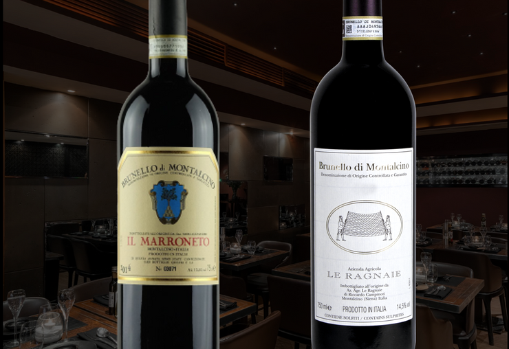 BRUNELLO WINE DINNER - Thursday May 13th 2021 7.30pm