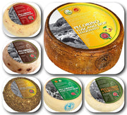 Gift Basket of Tuscan Cheeses 2,7KG