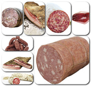 Gift Basket Large Selection of Typical Tuscan Cold Cuts 4.5KG